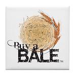 Buy A Bale Tile Coaster