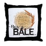 Buy A Bale Throw Pillow