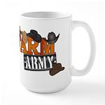 Farm Army Large Mug