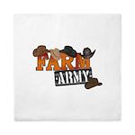 Farm Army Queen Duvet