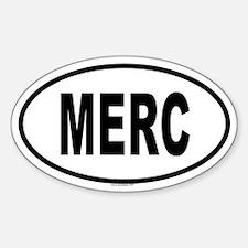 MERC Oval Decal