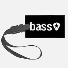 Bass Guitarist: Bass, Pick & Bla Luggage Tag