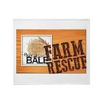 Farm Rescue Throw Blanket
