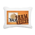 Farm Rescue Rectangular Canvas Pillow