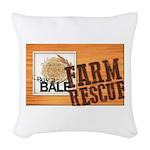 Farm Rescue Woven Throw Pillow