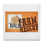 Farm Rescue Tile Coaster