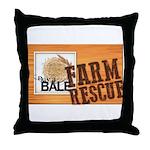 Farm Rescue Throw Pillow