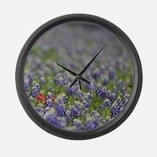 Cool Botany Large Wall Clock