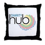 Charity Hub Throw Pillow