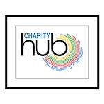 Charity Hub Large Framed Print
