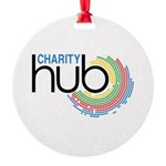 Charity Hub Round Ornament