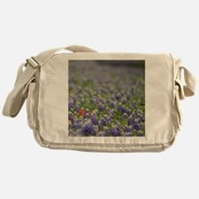 Cool Indian paintbrush Messenger Bag