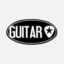 Guitarist: Guitar Pick & Black Star Patch