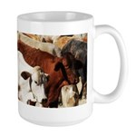 A Herd of Cattle Large Mug