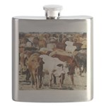 A Herd of Cattle Flask