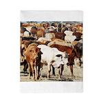 A Herd of Cattle Twin Duvet