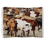 A Herd of Cattle Pillow Sham