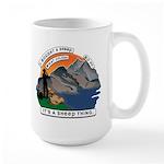 I Bought A Sheep Mountain Large Mug
