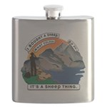 I Bought A Sheep Mountain Flask
