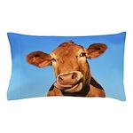 Selfie Cow Pillow Case