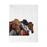 Cowboy Horses Twin Duvet