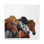 Cowboy Horses Queen Duvet