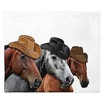 Cowboy Horses King Duvet