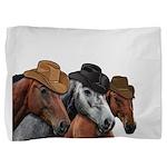 Cowboy Horses Pillow Sham