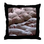 Baby Pigs Throw Pillow