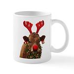 Christmas Cow Mug