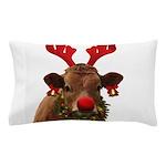 Christmas Cow Pillow Case