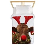 Christmas Cow Twin Duvet