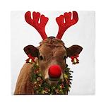 Christmas Cow Queen Duvet