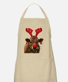 Christmas Cow Apron