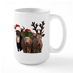 Santa & Friends Large Mug