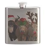 Santa & Friends Flask