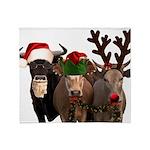 Santa & Friends Throw Blanket