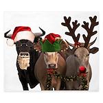 Santa & Friends King Duvet