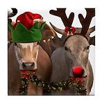 Santa & Friends Tile Coaster