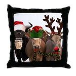 Santa & Friends Throw Pillow