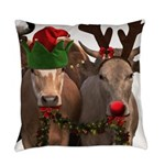 Santa & Friends Everyday Pillow