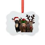 Santa & Friends Picture Ornament