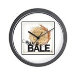Buy A Bale (Border) Wall Clock