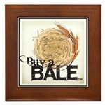 Buy A Bale (Border) Framed Tile