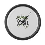 Rural Aid Large Wall Clock