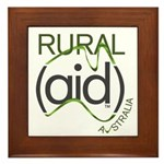 Rural Aid Framed Tile