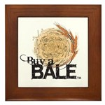 Buy A Bale Framed Tile