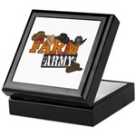 Farm Army Keepsake Box