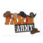 Farm Army Postcards (Package of 8)