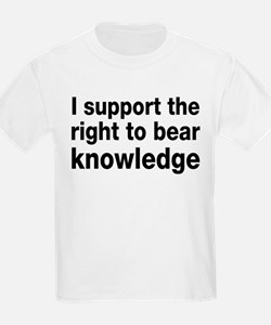 The Right To Bear Knowledge T-Shirt